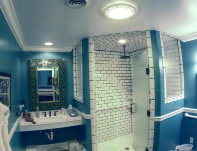 Lower Level ADA Compliant Master Bath Suite