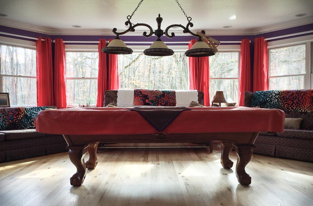 Game Room Brunswick Billiards Table