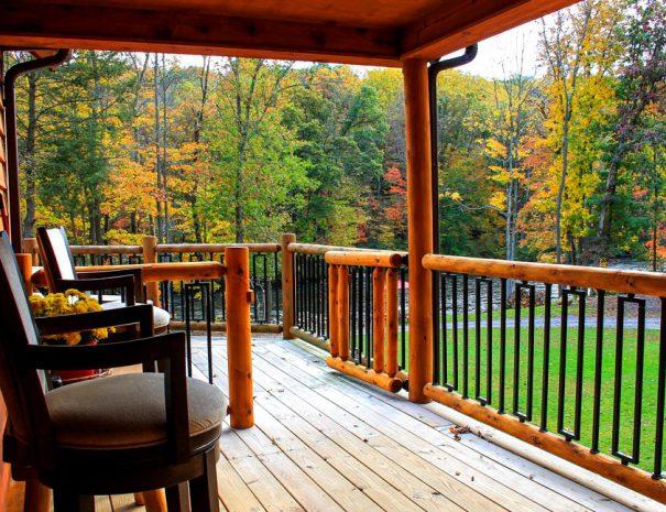 Stillwater Haven - Side porch