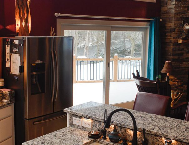 Main Kitchen - Window View