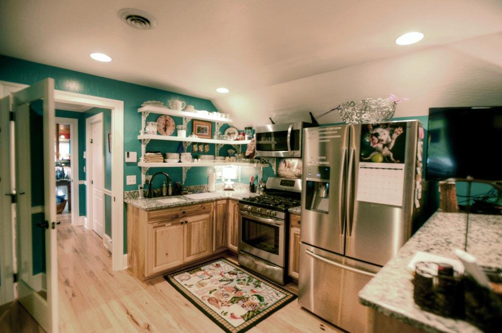 Bird View Suite Kitchenette- Loft Level