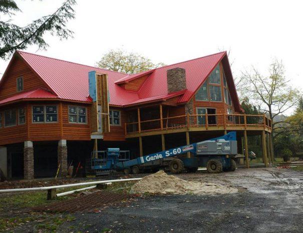 Under Construction Stillwater Haven Luxury Vacation Home Rental
