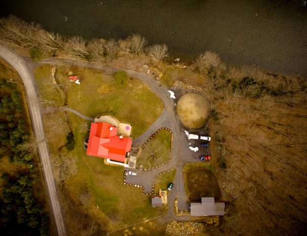 Stillwater Haven -high arial view of property
