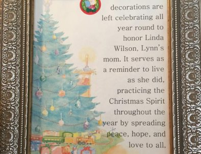Christmas Decorations Explanation